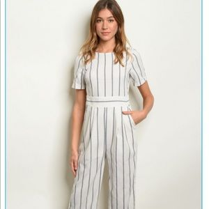 ♥️ Striped Jumpsuit